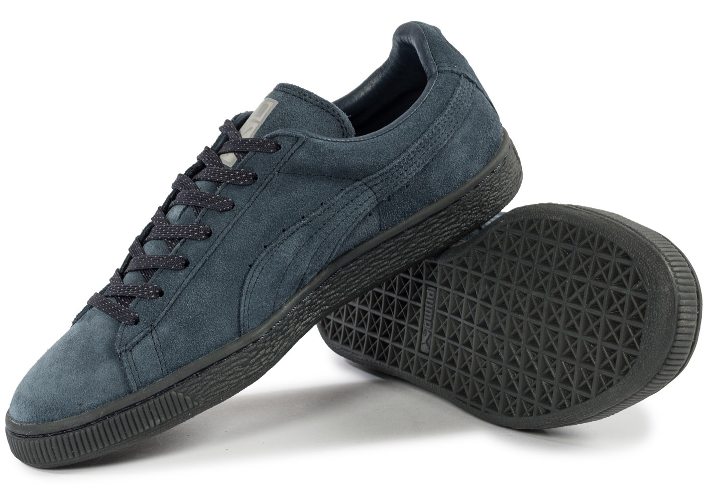 puma suede classic ref iced navy baskets tennis homme. Black Bedroom Furniture Sets. Home Design Ideas