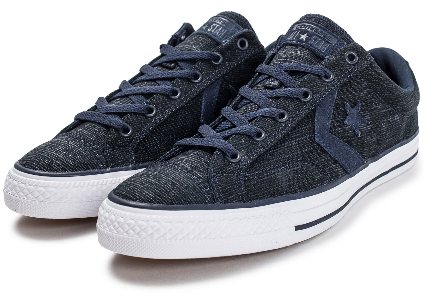converse star player ox bleu marine baskets tennis homme. Black Bedroom Furniture Sets. Home Design Ideas