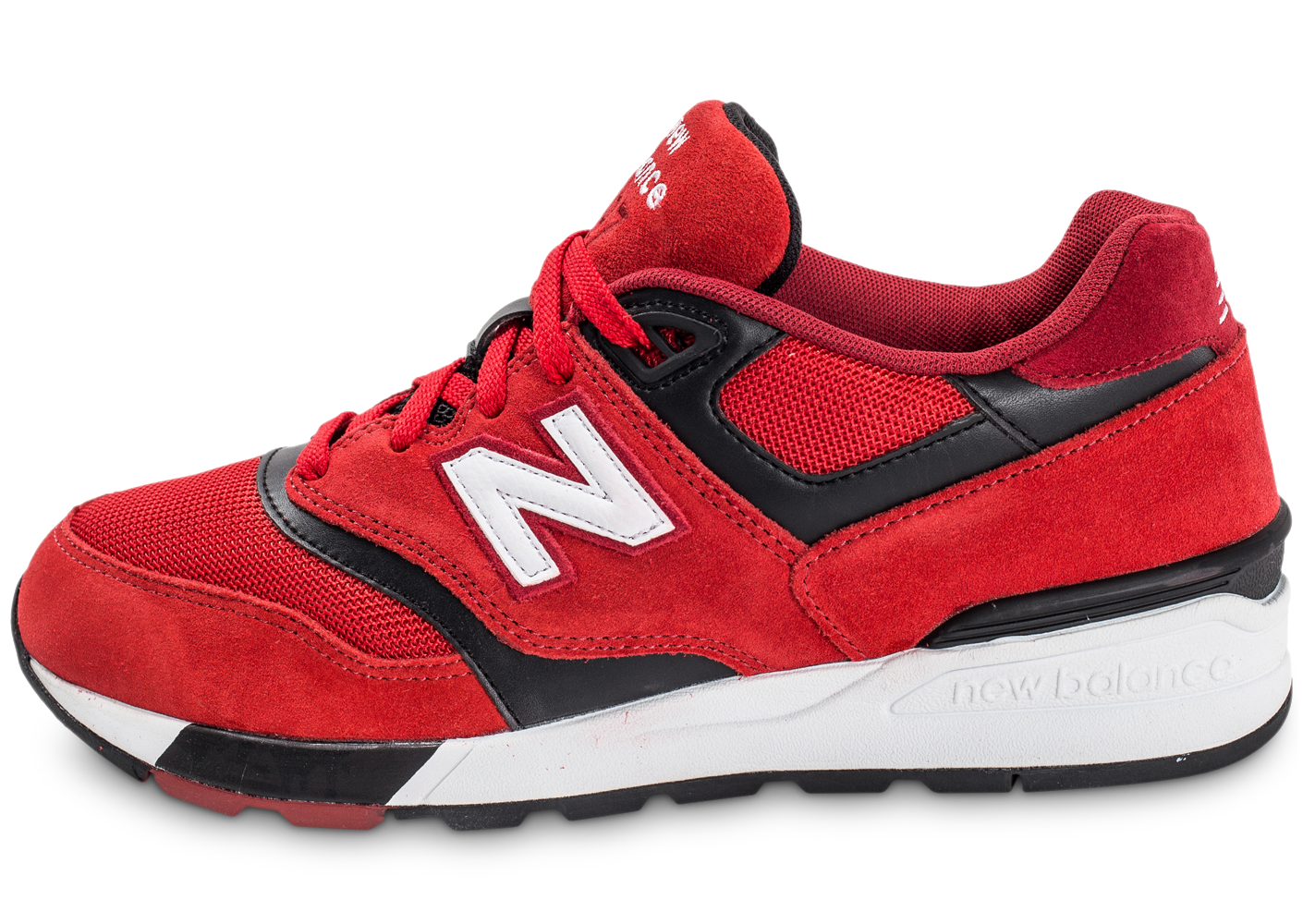 New balance ml597gsb suede rouge