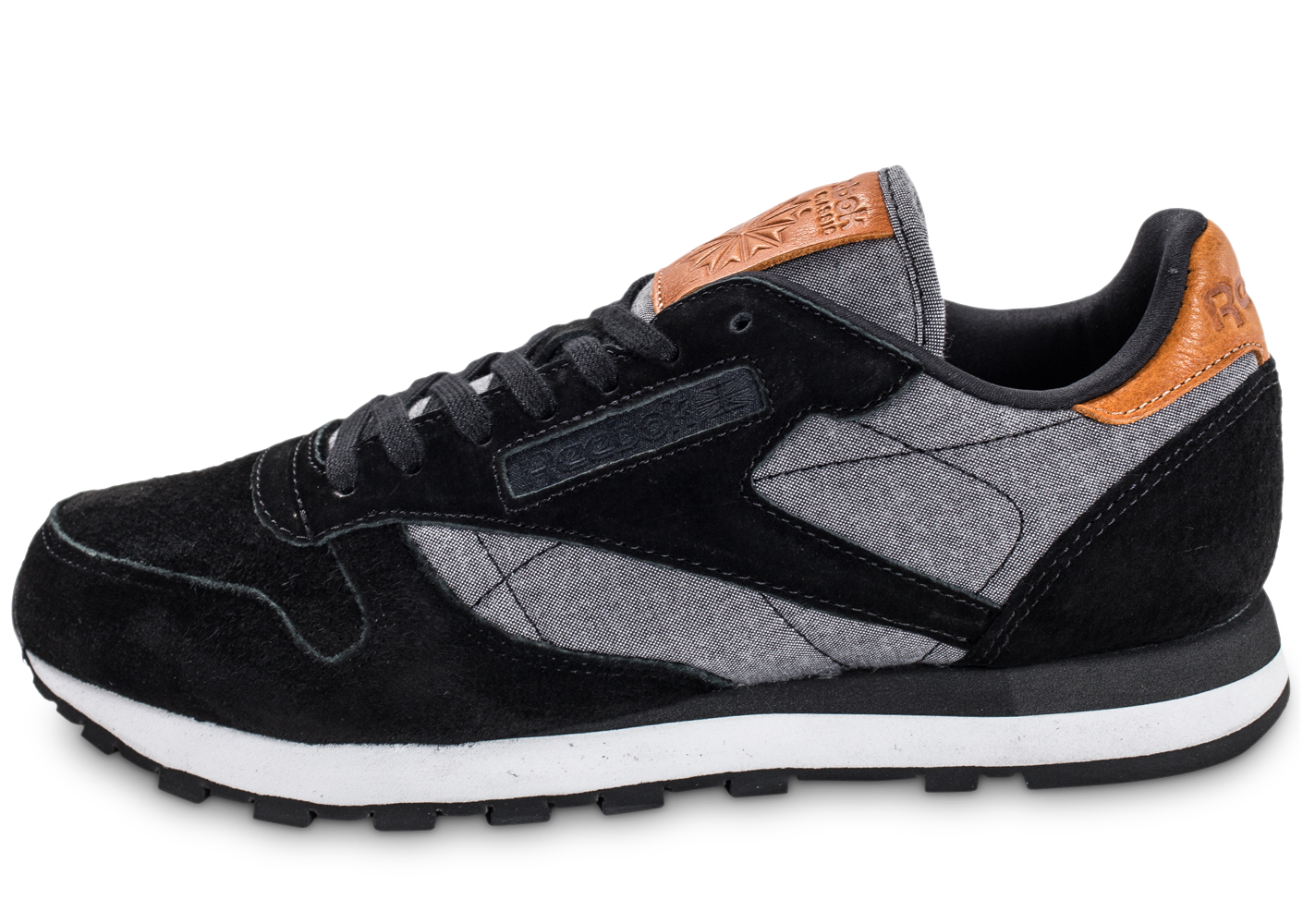 Reebok classic leather chambray noire