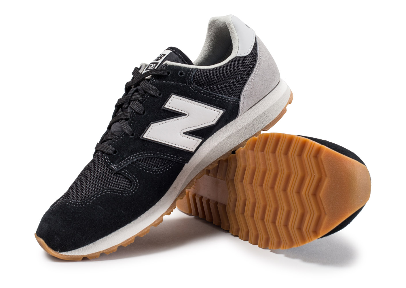 New Balance U520 Ag Noire Et Grise Baskets/Running Homme vqHGfIhYID