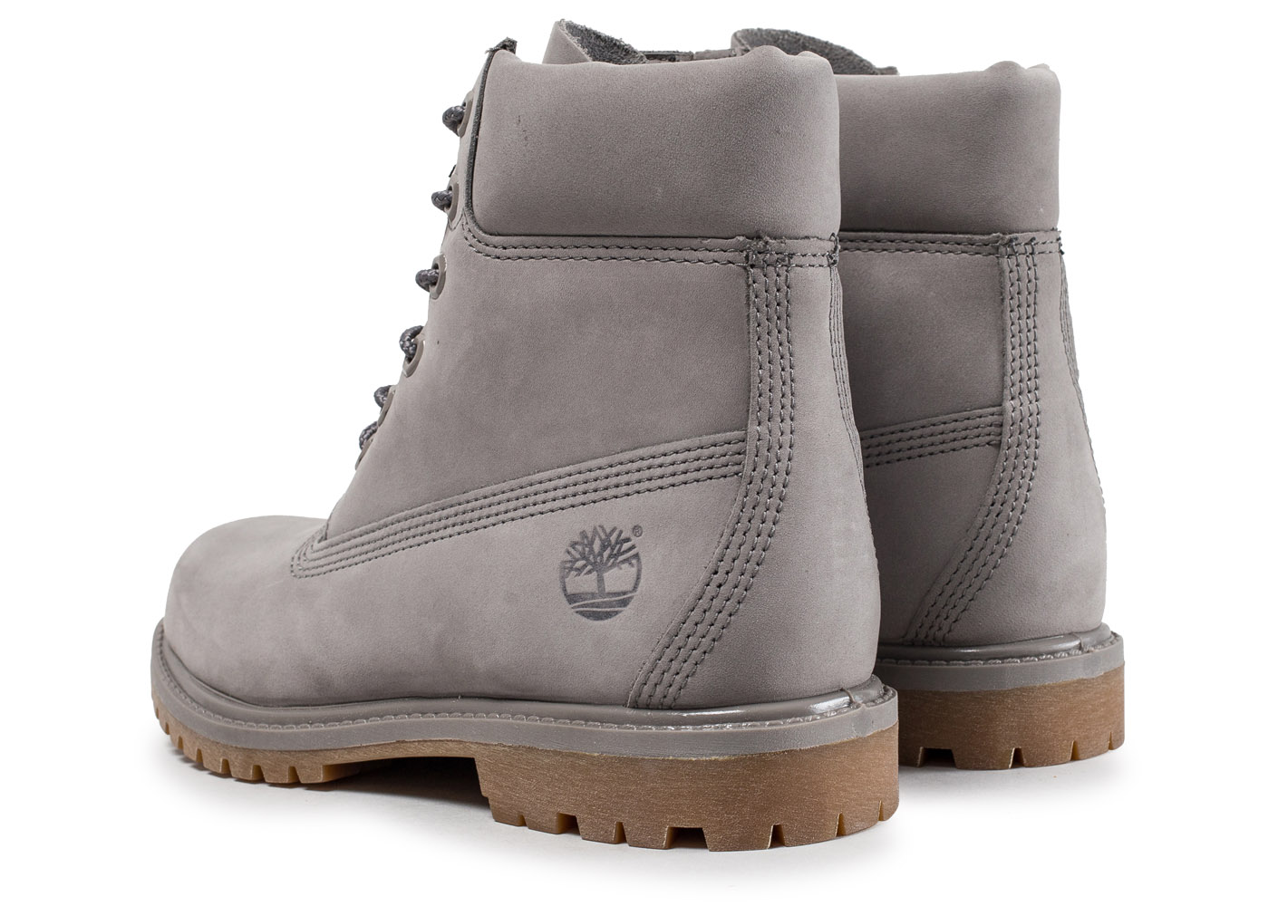 timberland grise femme