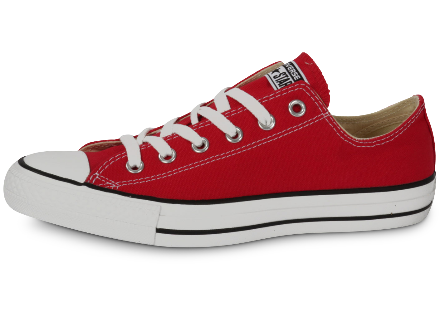 Converse chuck taylor all-star low rouge
