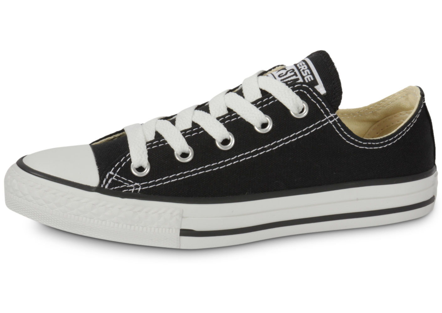 Converse Chuck Taylor All Star Low Noire Tennis Enfant