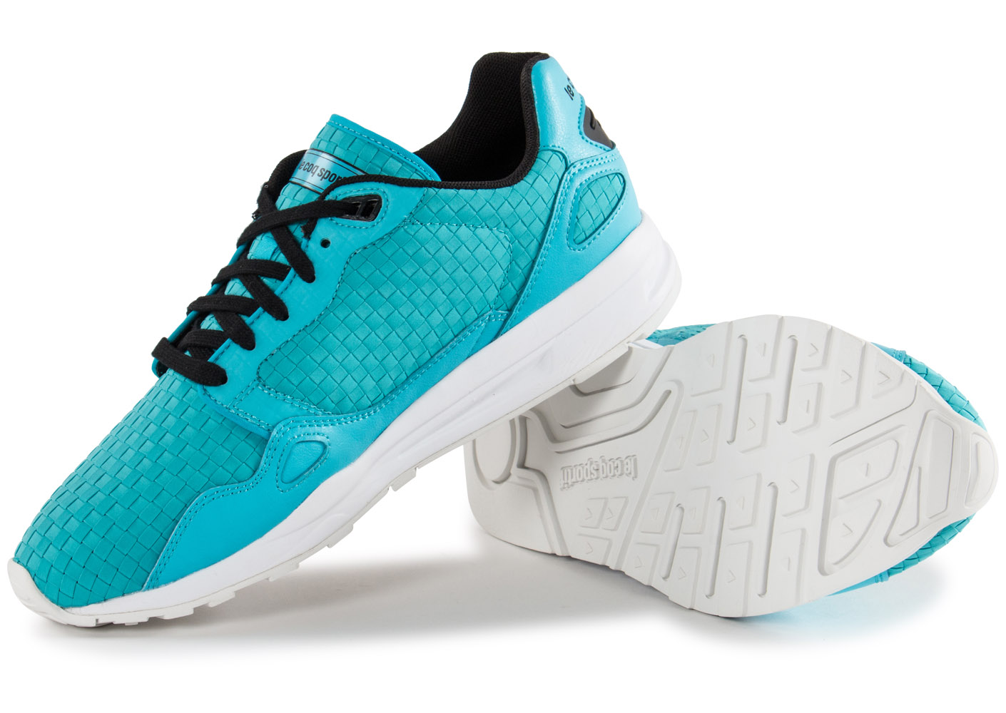 le coq sportif lcs r900 woven turquoise baskets running homme. Black Bedroom Furniture Sets. Home Design Ideas