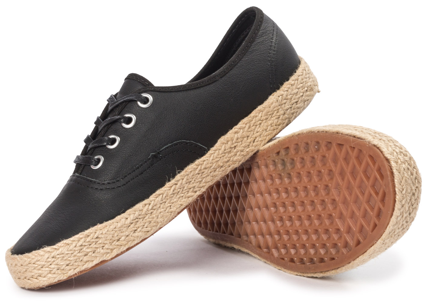 vans authentic espadrille noire tennis femme achat et vente. Black Bedroom Furniture Sets. Home Design Ideas