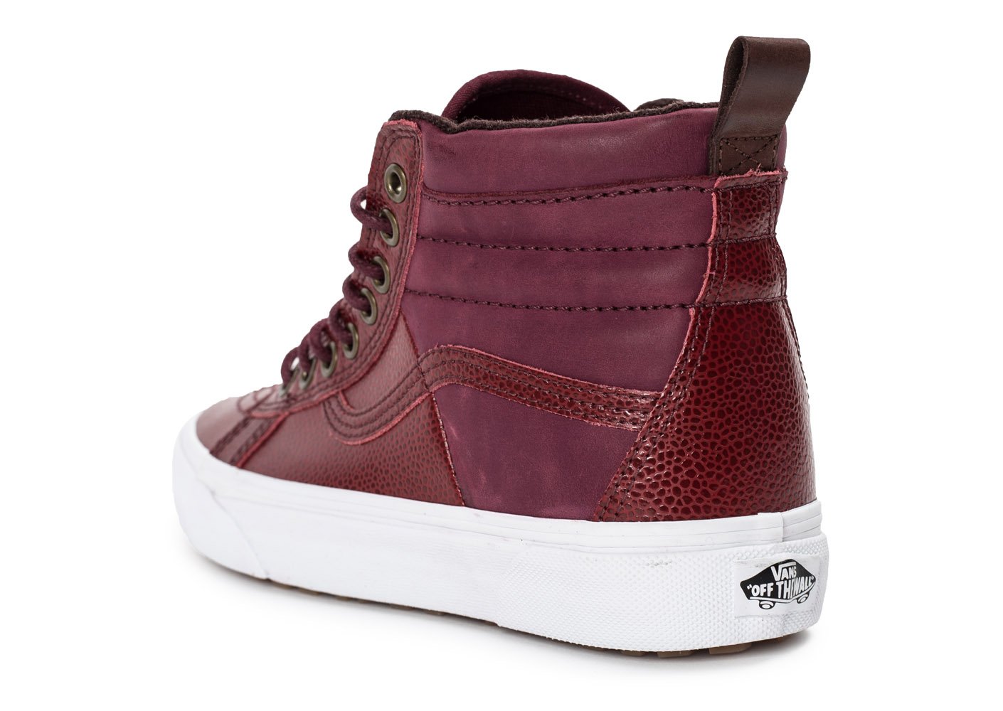 vans sk8 hi 46 mte bordeaux skate femme achat et vente. Black Bedroom Furniture Sets. Home Design Ideas