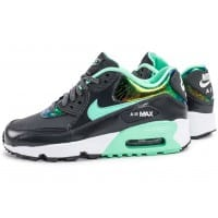 Air Max 90 SE Leather gris vert