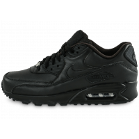 Air Max 90 Leather noire