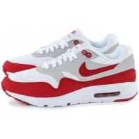 Air Max 1 Ultra Essential blanc rouge