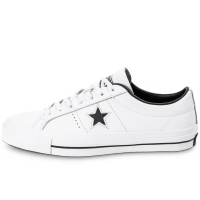One Star Leather Blanche