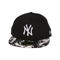 Casquette Fitted July Jersey noire