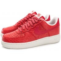 Air Force 1 07 LV8 Snake rouge