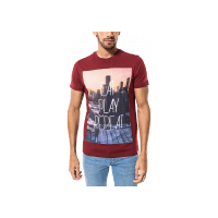 T-Shirt Oli bordeaux