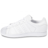 Superstar Glossy Toe blanche