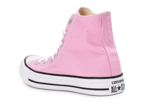 Chaussures Converse Chuck Taylor All Star montante rose vue arrière