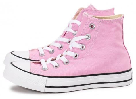 Chaussures Converse Chuck Taylor All Star montante rose vue extérieure