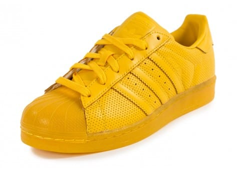 adidas superstar jaune moutarde