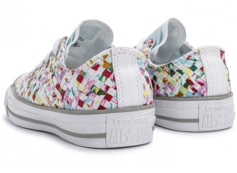 Chaussures Converse Chuck Taylor All-Star Printed Woven vue dessous