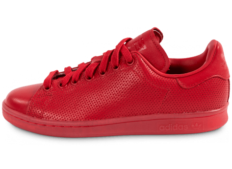 Chaussures adidas Stan Smith Adicolor W rouge vue extérieure