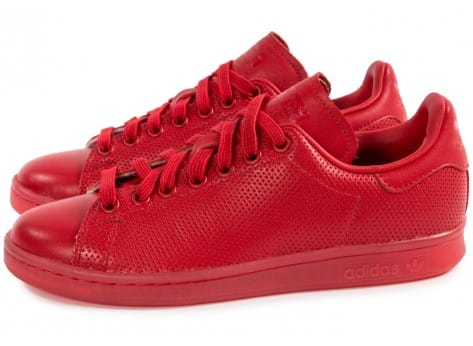 Chaussures adidas Stan Smith Adicolor W rouge vue intérieure