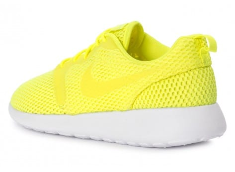 Chaussures Nike Roshe One Hyperfuse BR Jaune vue arrière
