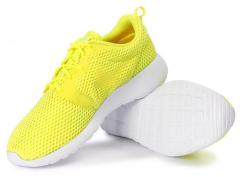 Chaussures Nike Roshe One Hyperfuse BR Jaune vue intérieure