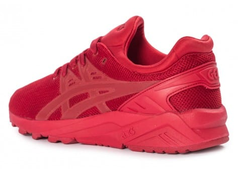 Chaussures Asics Gel Kayano Trainer Evo rouge vue arrière