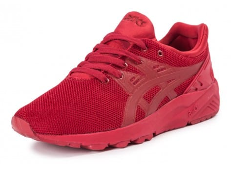 Chaussures Asics Gel Kayano Trainer Evo rouge vue avant