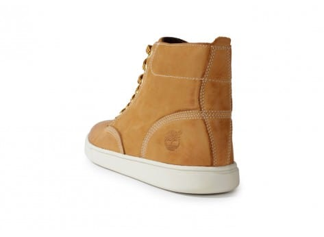 Chaussures Timberland Earthkeepers 3.0 Cupsole Boot Beige vue arrière