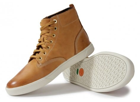 Chaussures Timberland Earthkeepers 3.0 Cupsole Boot Beige vue intérieure