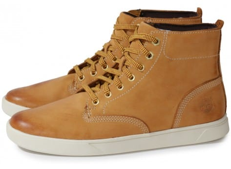 Chaussures Timberland EARTHKEEPERS 3.0 CUPSOLE BOOT BEIGE vue extérieure