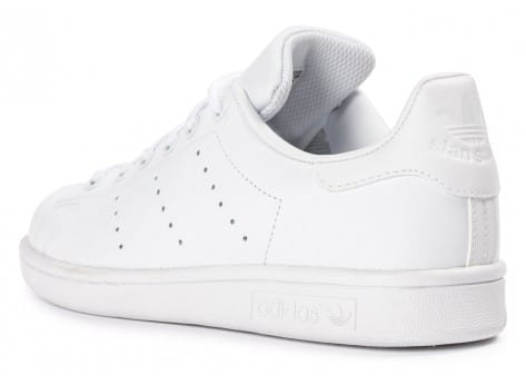Chaussures adidas Stan Smith Junior blanche vue arrière