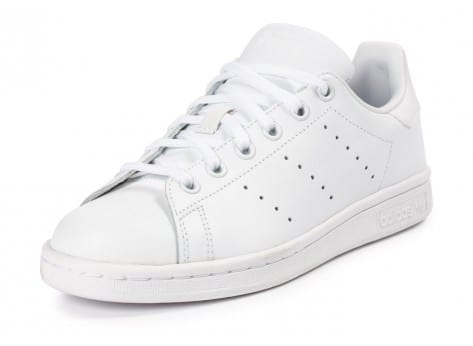 Chaussures adidas Stan Smith Junior blanche vue avant