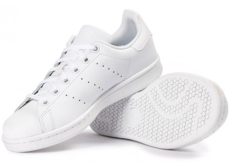 Chaussures adidas Stan Smith Junior blanche vue intérieure