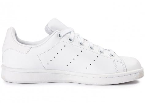 Chaussures adidas Stan Smith Junior blanche vue dessous