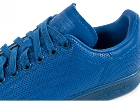 Chaussures adidas Stan Smith Adicolor W bleu vue dessus