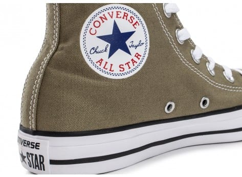 Chaussures Converse Chuck Taylor All-Star Mid Jute vue dessus