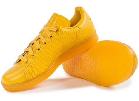 Chaussures adidas Stan Smith Adicolor W jaune vue intérieure