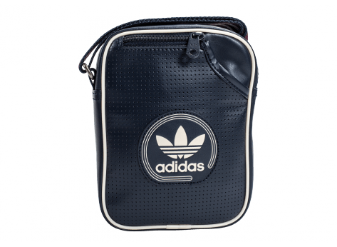 Sacs adidas Sacoche Mini Bag Perforated bleu marine