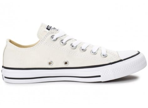 Chaussures Converse Chuck Taylor All Star low beige vue arrière