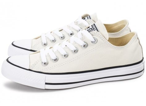 Chaussures Converse Chuck Taylor All Star low beige vue extérieure