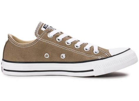Chaussures Converse Chuck Taylor All Star low jute vue dessous
