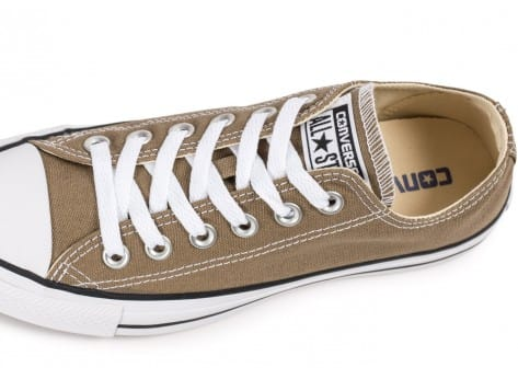 Chaussures Converse Chuck Taylor All Star low jute vue dessus
