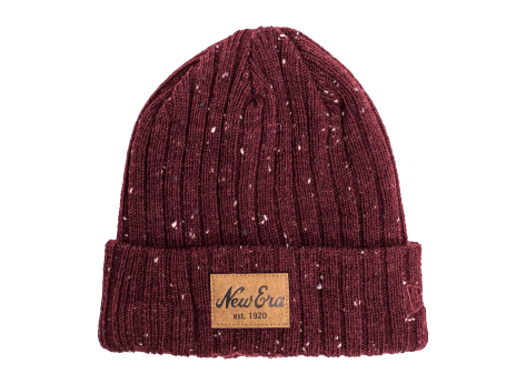 Bonnets New Era Bonnet Fleck bordeaux