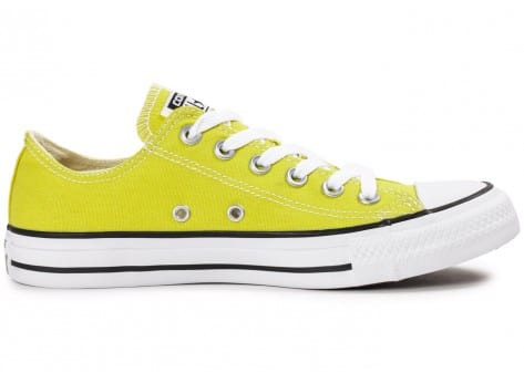Chaussures Converse Chuck Taylor All Star low verte vue dessous
