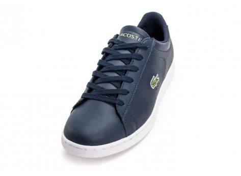 Chaussures Lacoste Carnaby EVO Croc bleu marine vue avant