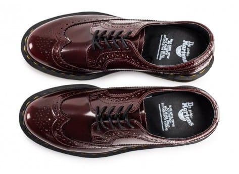 Chaussures Dr Martens 3989 WingTip Cherry Red vue arrière