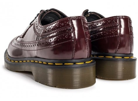 Chaussures Dr Martens 3989 WingTip Cherry Red vue dessous