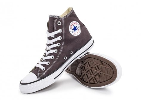 Chaussures Converse Chuck Taylor All-Star Mid grise vue avant